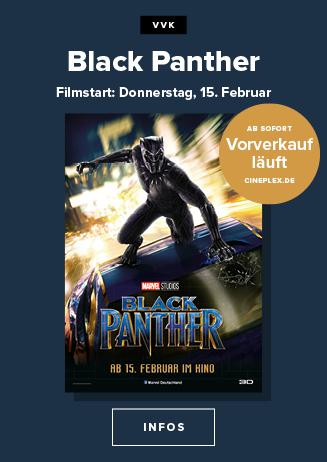 """im Vorverkauf: """"Black Panther """""""