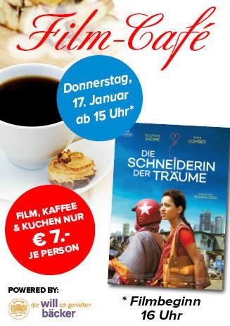 """190117 Film-Café """"Die Schneiderin der Träume"""""""
