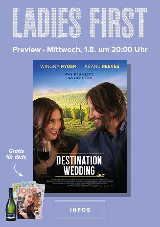 """Ladies First Preview """"Destination Wedding"""""""