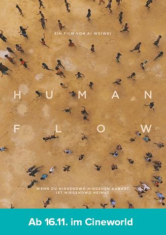 "171116 Filmstart ""Human Flow"""