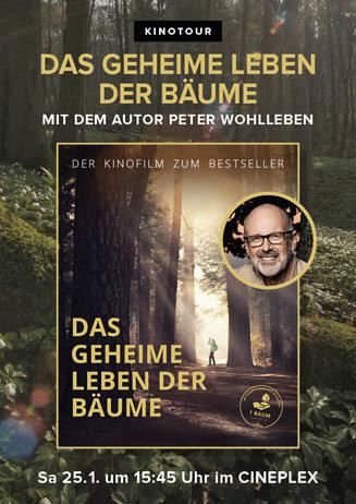 Das geheime Leben der Bäume mit Peter Wohlleben