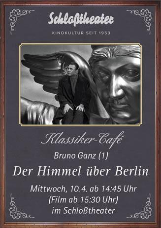 Klassiker-Café: DER HIMMEL ÜBER BERLIN