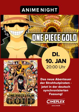 Anime Night ONE PIECE GOLD