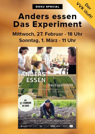 "200301 Special ""Anders essen - Das Experiment"""