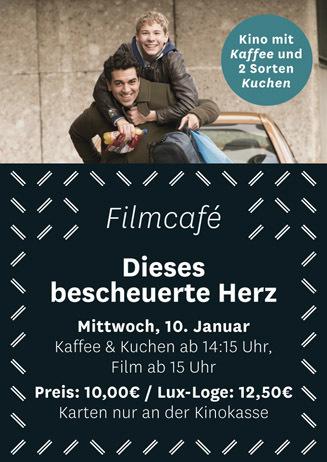 Filmcafé: Dieses bescheuerte Herz