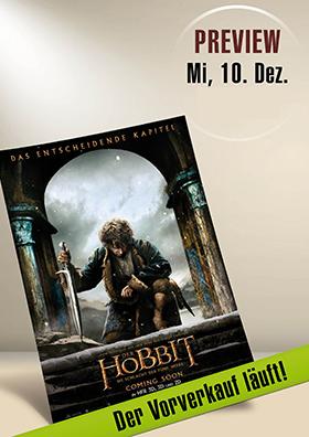 10.12. - Preview: Der Hobbit - Die Schlacht der fünf Heere