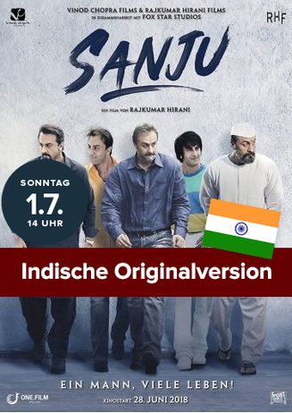 Indische Originalversion: Sanju - Ein Mann, viele Leben!