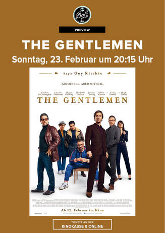 "Preview: ""The Gentlemen"""