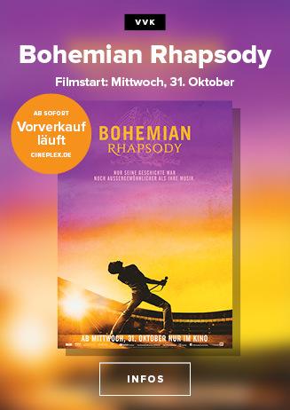Vorverkaufsstart: Bohemian Rhapsody