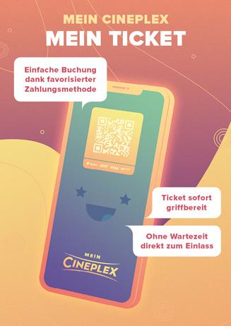 Mein CINEPLEX – Mein Ticket