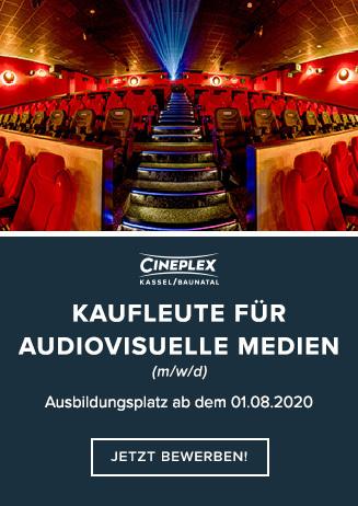 Ausbildungsplatz: Kaufleute für audiovisuelle Medien (m/w/d)