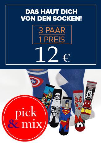 """Socken """"3 für 12 €"""""""