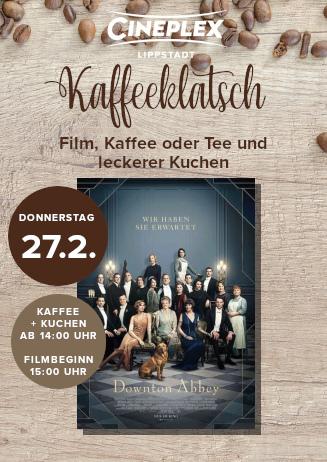 Kaffeeklatsch Downton Abbey
