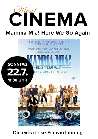 "Silent Cinema: ""Mamma Mia! Here We Go Again"""
