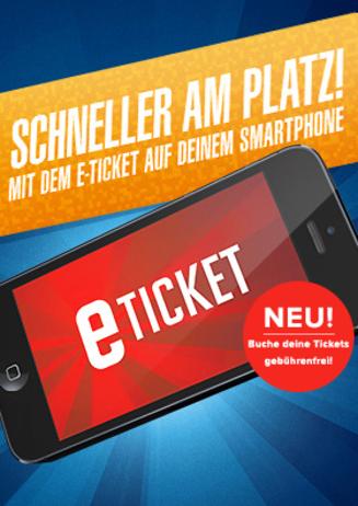 E-Ticket - Anstehen war gestern!