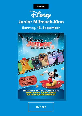 16.09. - Disney Junior Mitmach Kino