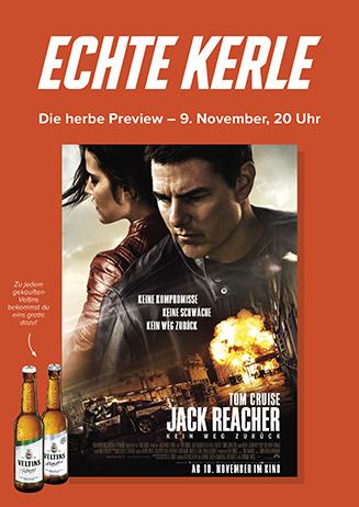 Echte-Kerle-Preview: JACK REACHER - KEIN WEG ZURÜCK