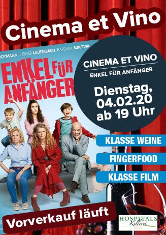 """Cinema et Vino: """"Enkel für Anfänger"""""""