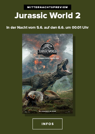 Mitternachtspreview Jurassic World