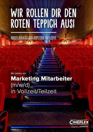 Marketing Mitarbeiter (m/w/d)