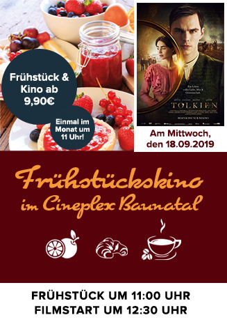 "Frühstückskino: ""Tolkien"""