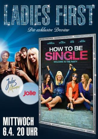 Ladies First: How to be Single