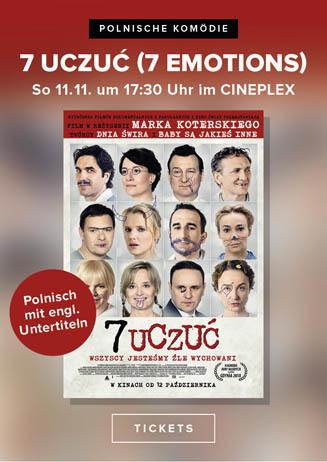 Polnischer Film: 7 UCZUĆ (7 EMOTIONS)