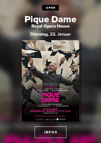 ROYAL OPERA HOUSE - PIQUE DAME 22.01.