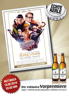 Echte-Kerle-Preview: KINGSMAN - THE SECRET SERVICE