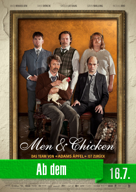 Men & Chicken - Ab dem 16.7. bei uns