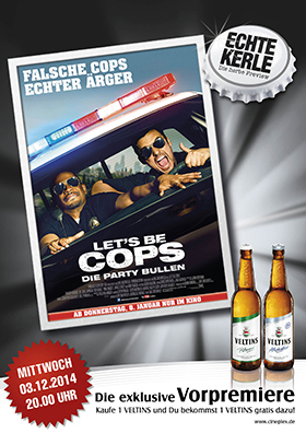 Echte Kerle Preview: LET'S BE COPS - DIE PARTY BULLEN