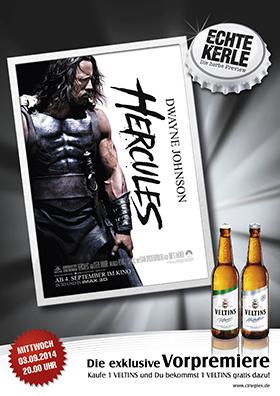 ECHTE KERLE Preview: Hercules