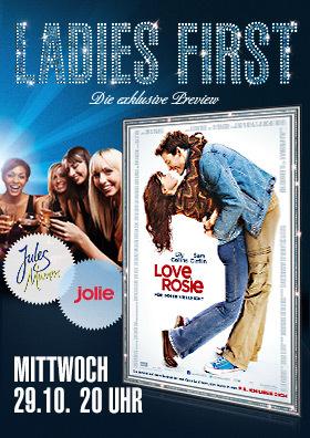 Ladies First Preview LOVE, ROSIE - FÜR IMMER VIELLEICHT