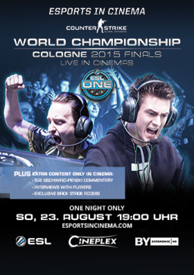 ESL ONE COLOGNE 2015 COUNTER-STRIKE: GLOBAL OFFENSIVE FINALS