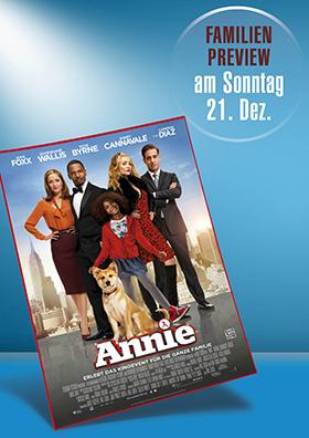 21.12. - Familienpreview: Annie