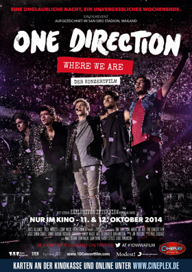 DAS EVENT im Kino fuer alle One Direction Fans