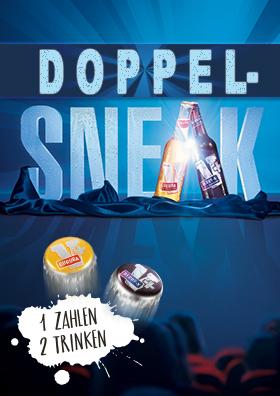 DOPPEL SNEAK am 23.12.