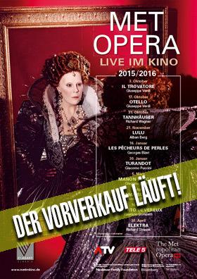 Metropolitan Opera Saison 2015 - 2016