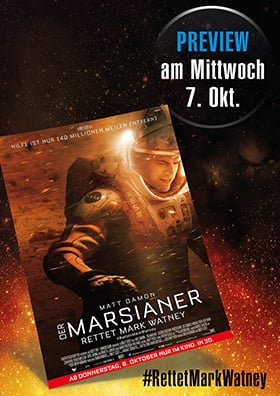 07.10. - Preview: Der Marsianer