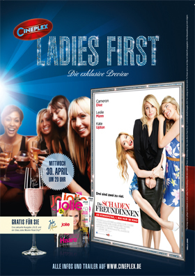 Ladies First: Schadenfreundinnen