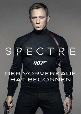 James Bond 007: SPECTRE - VVK läuft!