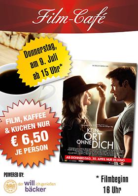"Film-Café ""Kein Ort ohne Dich"""