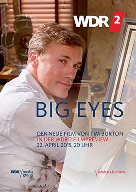 WDR 2 Filmpreview: BIG EYES