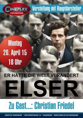 ELSER mit Hauptdarsteller Christian Friedel