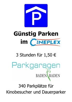 Parken im Cineplex