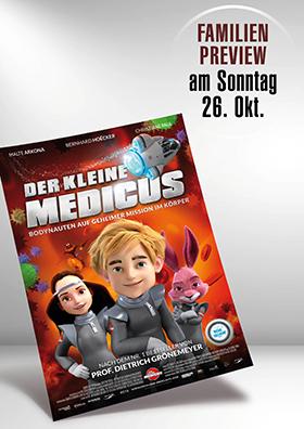 26.10. - Familienpreview: Der kleine Medicus