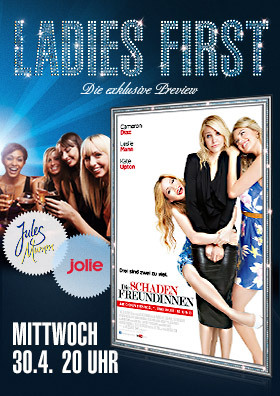 Ladies First: Die Schadenfreundinnen