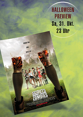 """Halloween-Preview """"Scouts vs. Zombies"""""""