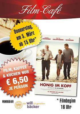 "Film-Café ""Honig im Kopf"""