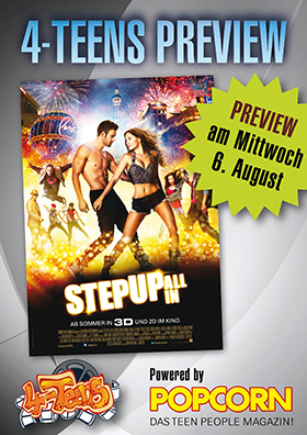 4-Teens Preview: Step Up: All In 3D